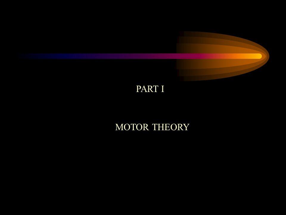 PART I MOTOR THEORY