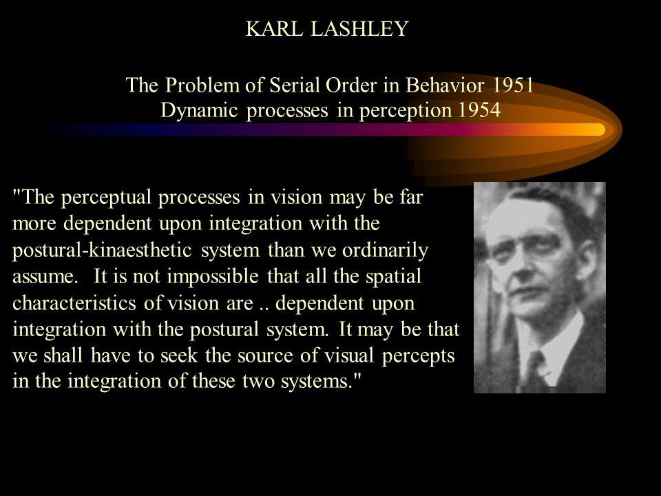 The Problem of Serial Order in Behavior 1951
