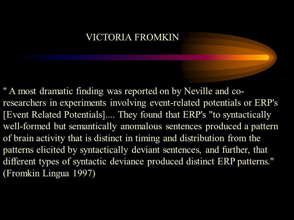 VICTORIA FROMKIN