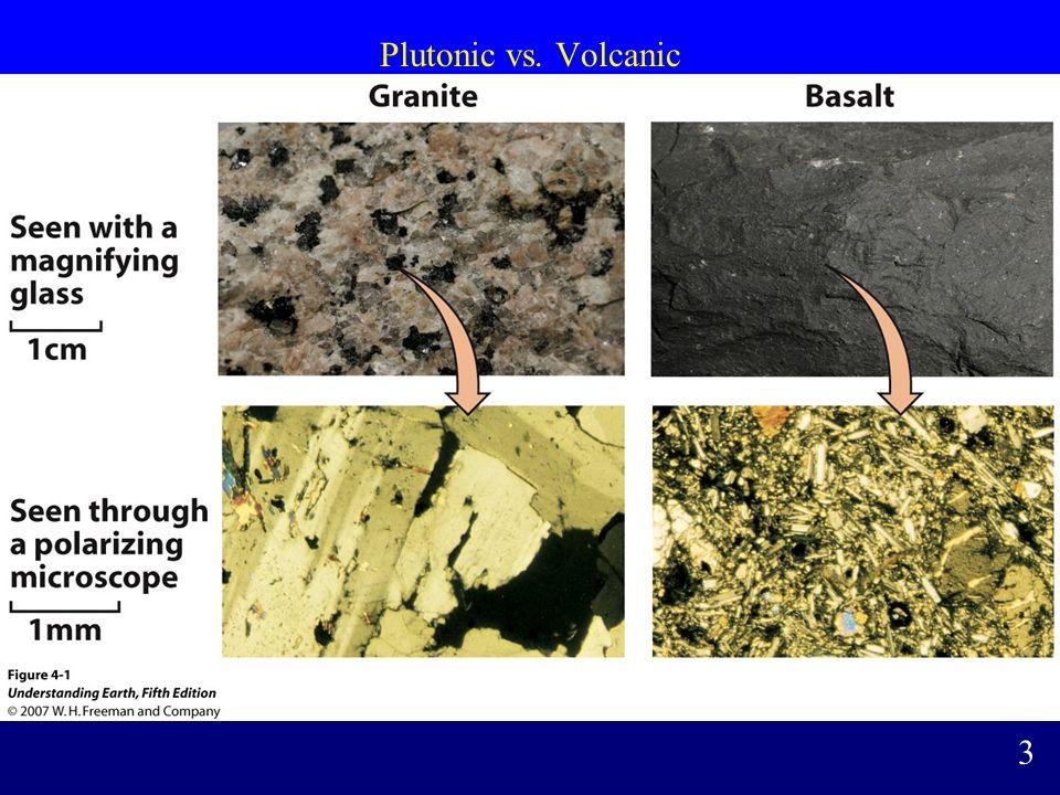 Plutonic vs. Volcanic 3