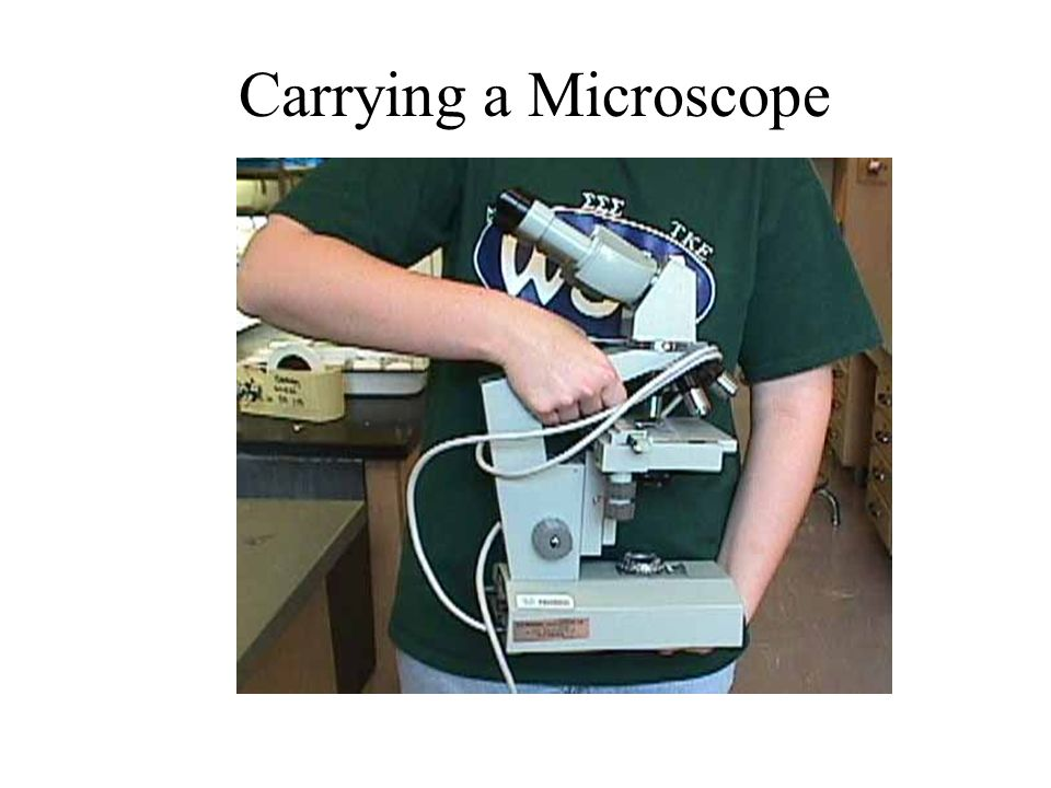 Carrying a Microscope