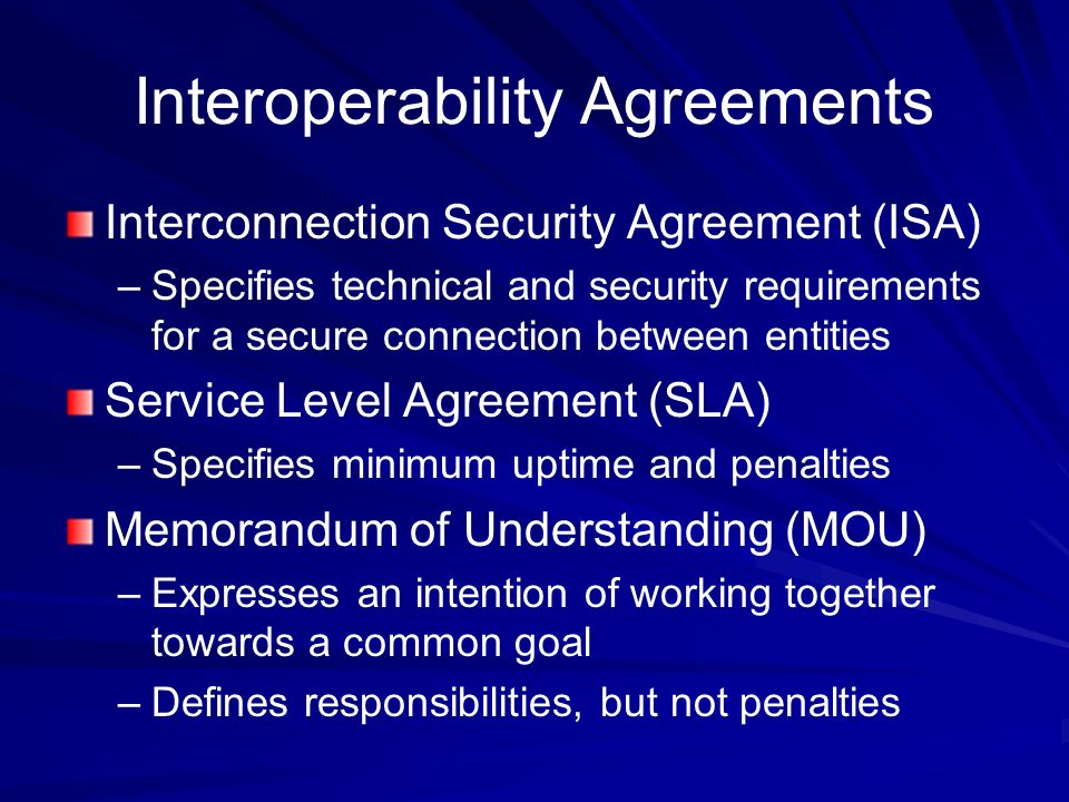 Ch 11 exploring operational security ppt video online download interoperability agreements platinumwayz