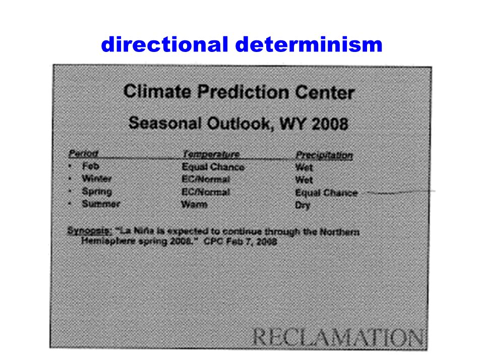 directional determinism