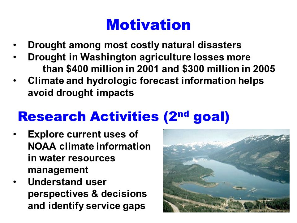 Research Activities (2nd goal)