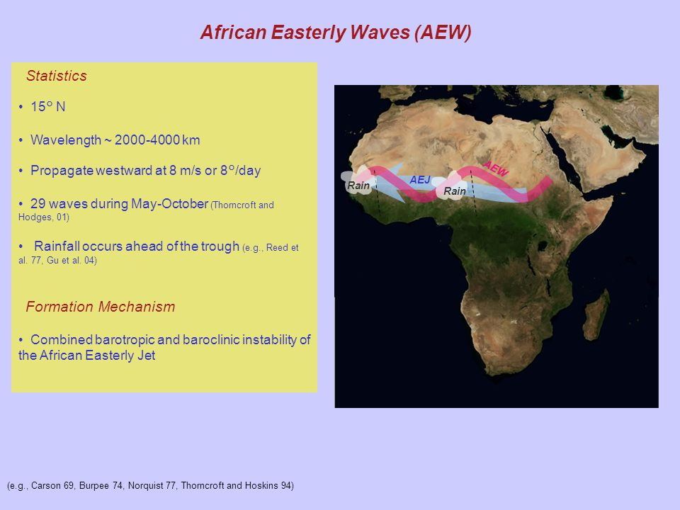 African Easterly Waves (AEW)