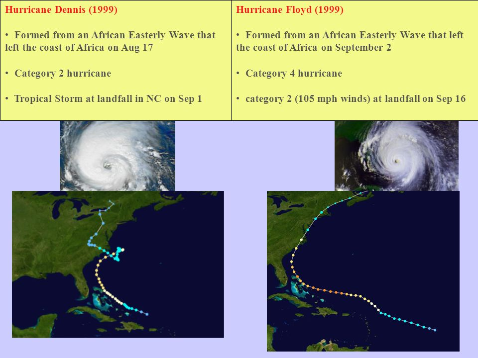 Hurricane Floyd Bio Hurricane Dennis (1999)