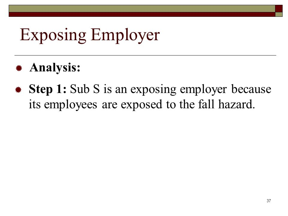 Exposing Employer Analysis:
