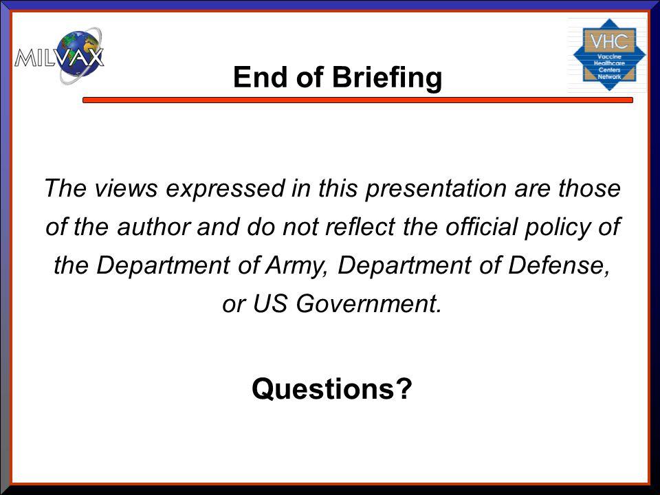 End of Briefing