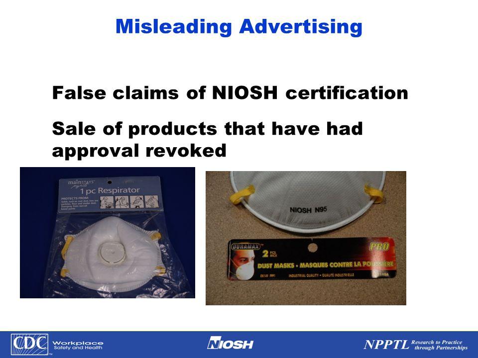 Misleading Advertising