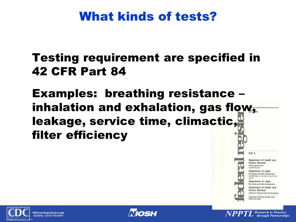 What kinds of tests