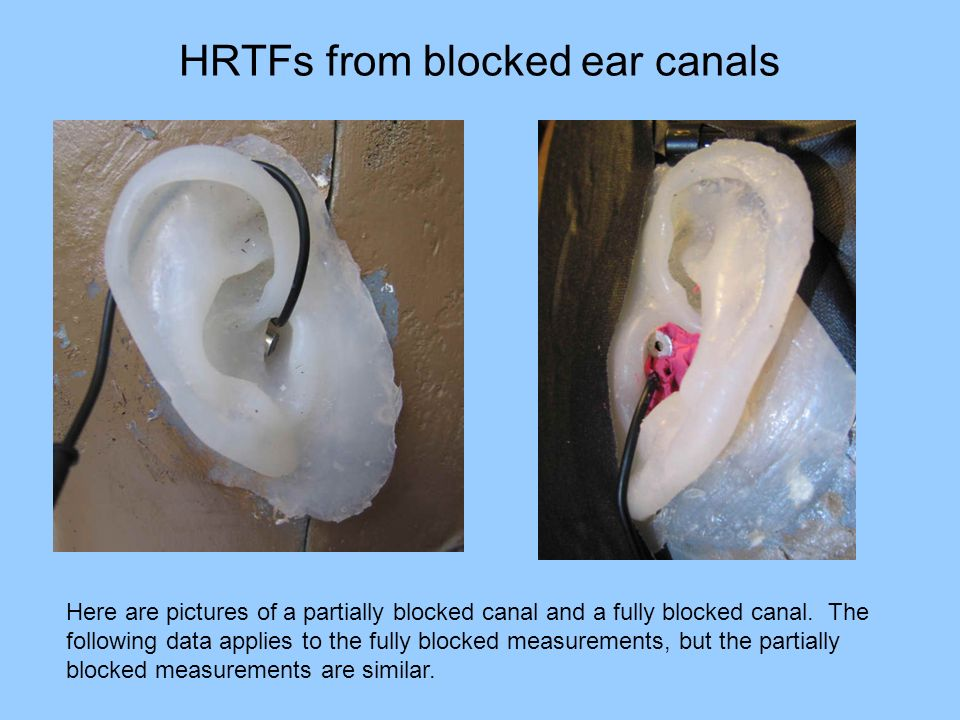 how to clean a blocked ear canal