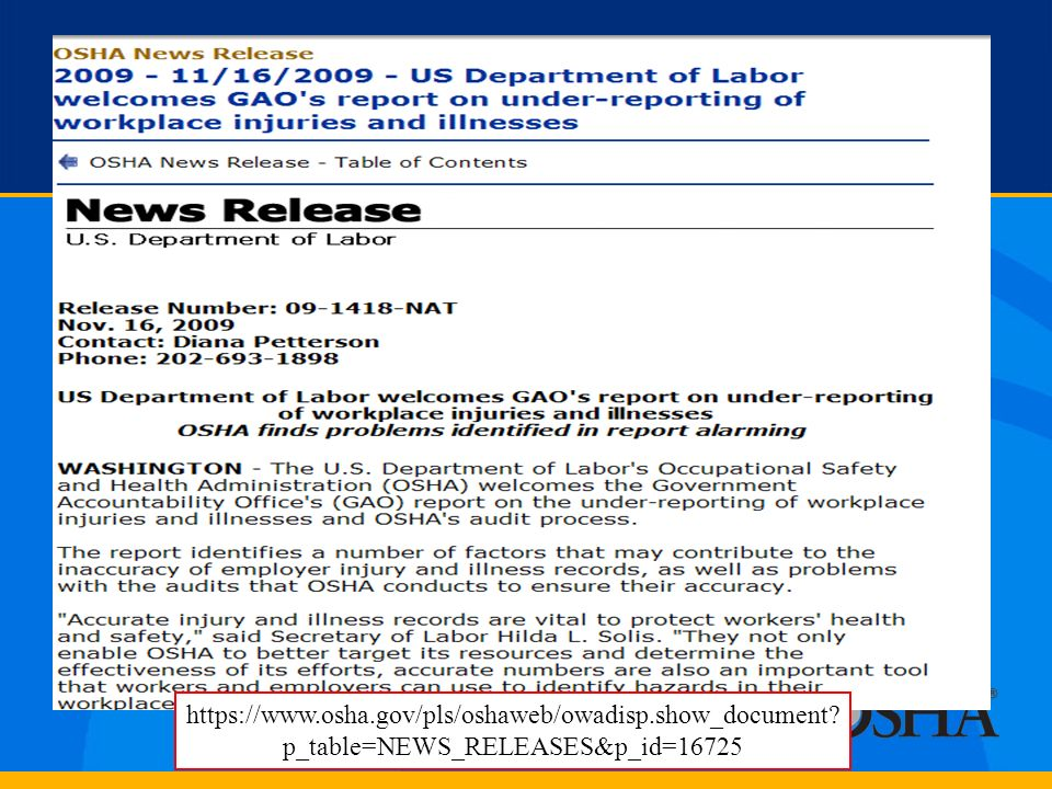https://www. osha. gov/pls/oshaweb/owadisp. show_document