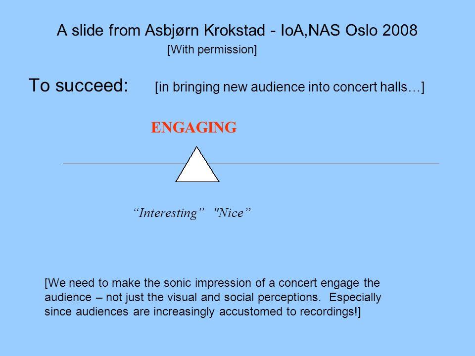 A slide from Asbjørn Krokstad - IoA,NAS Oslo 2008