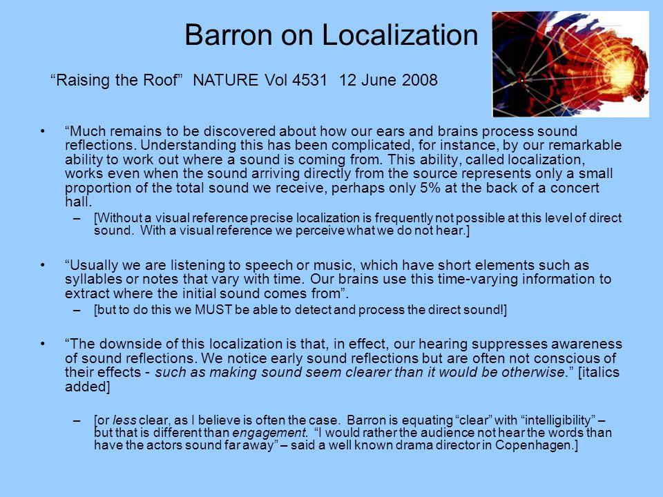 Barron on Localization