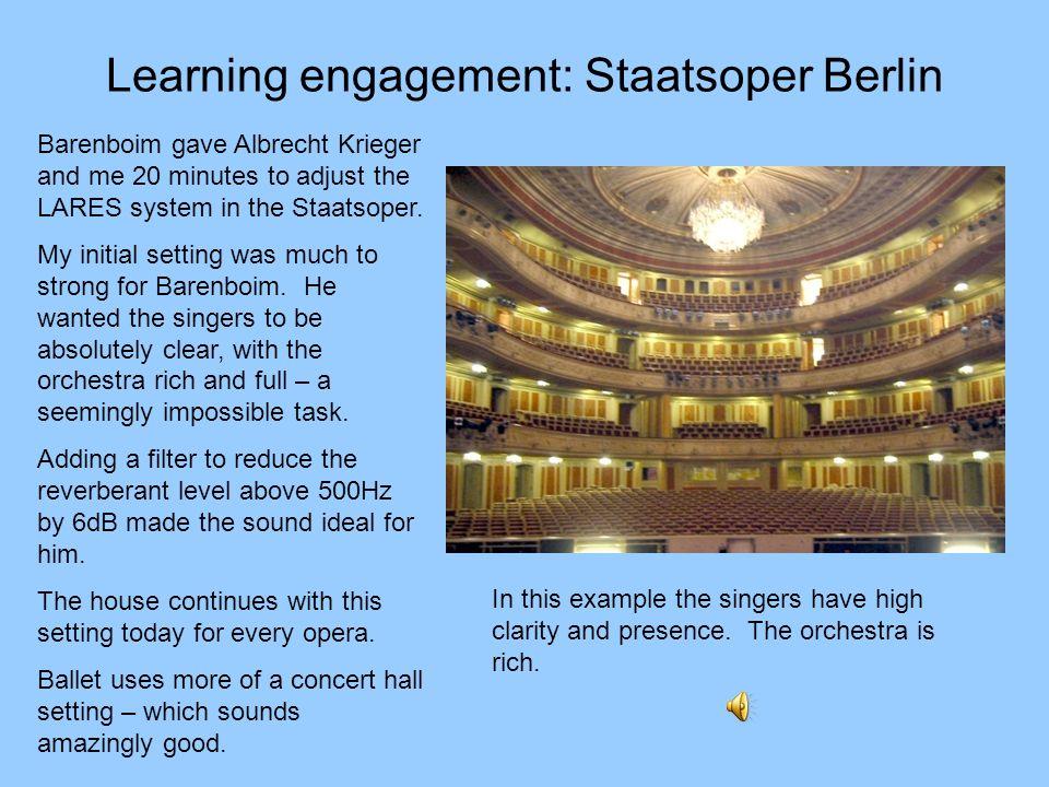 Learning engagement: Staatsoper Berlin
