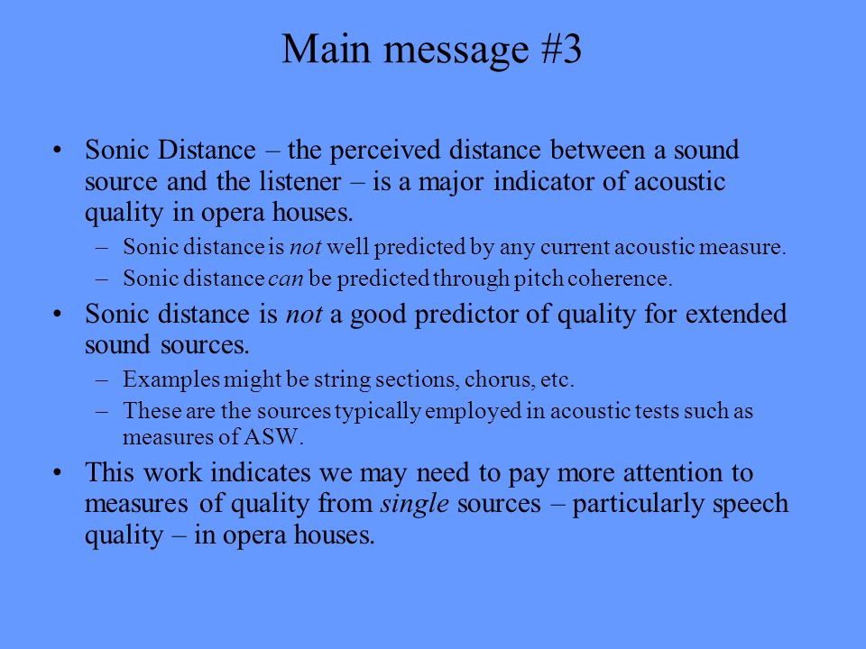 Main message #3