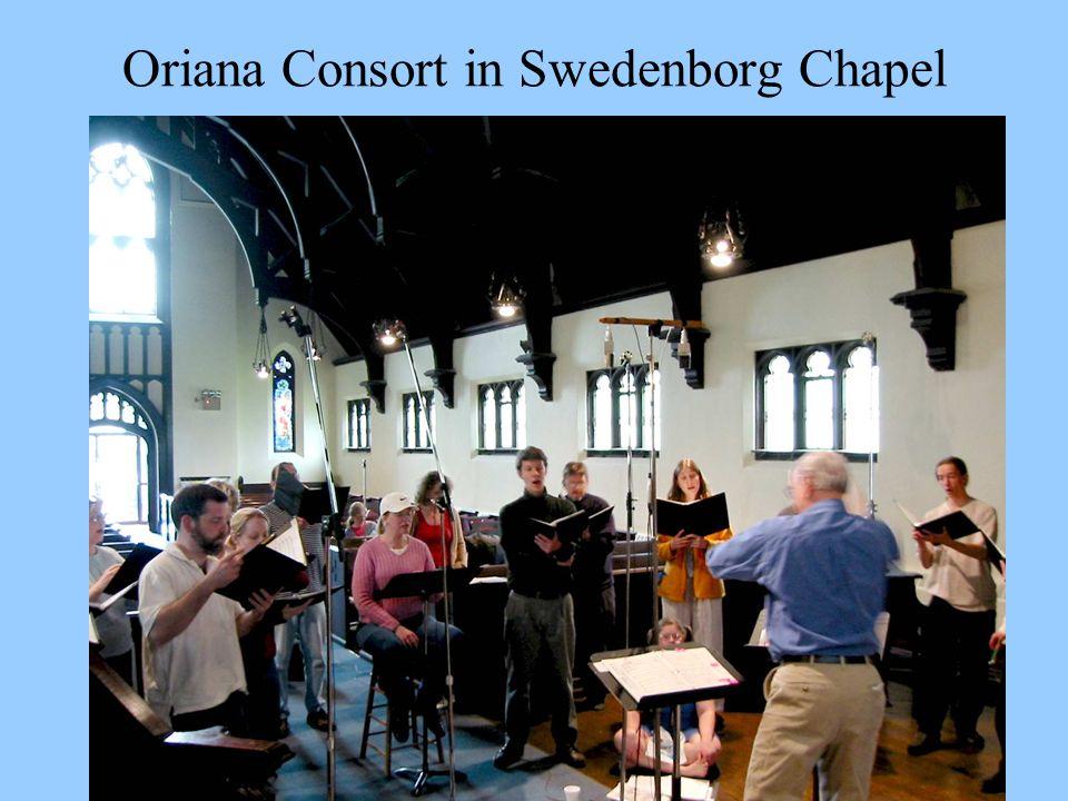 Oriana Consort in Swedenborg Chapel