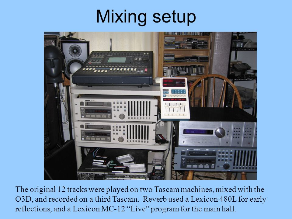 Mixing setup