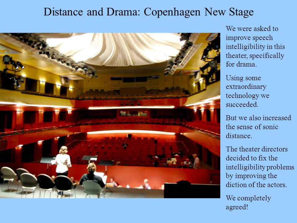 Distance and Drama: Copenhagen New Stage