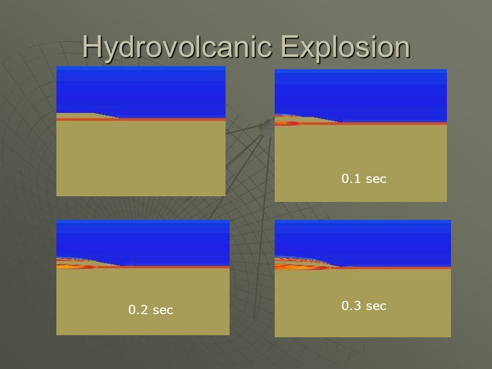 Hydrovolcanic Explosion