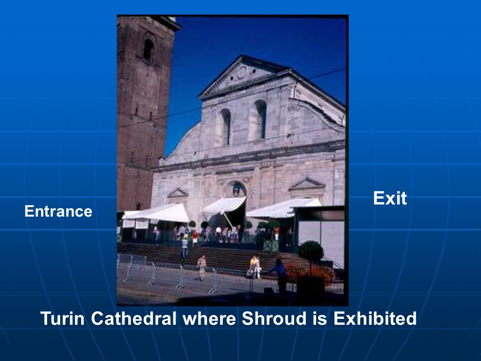 Turin Cathedral where Shroud is Exhibited