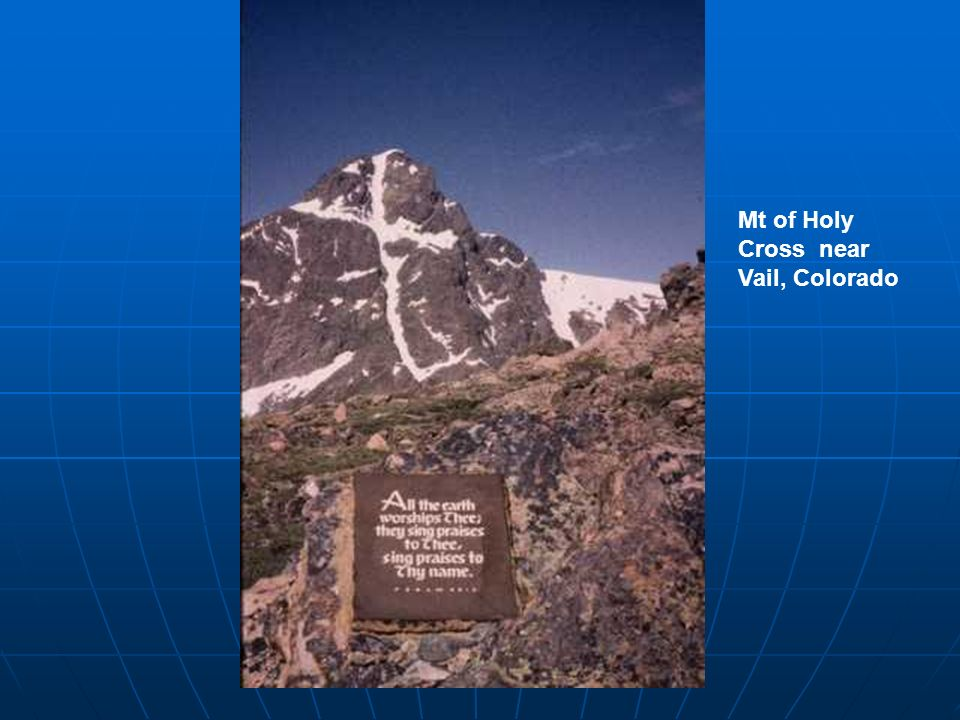Mt of Holy Cross near Vail, Colorado