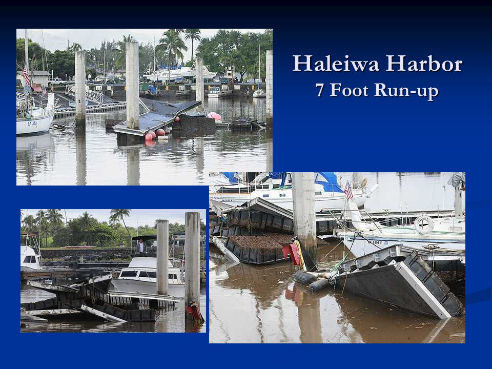 Haleiwa Harbor 7 Foot Run-up