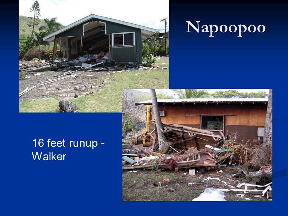 Napoopoo 16 feet runup -Walker