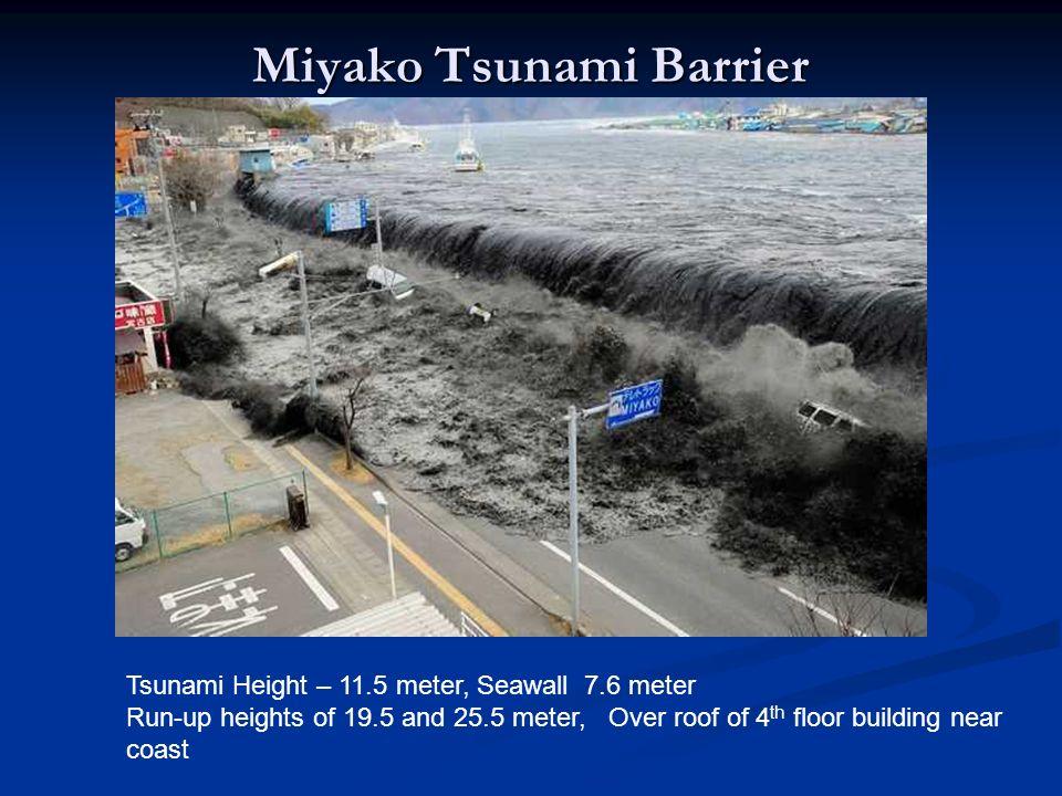 Miyako Tsunami Barrier