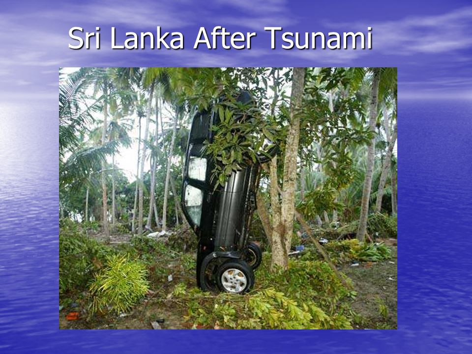 Sri Lanka After Tsunami