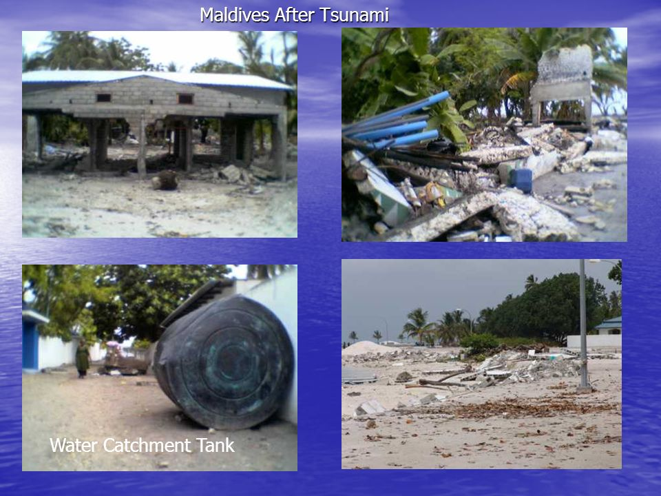 Maldives After Tsunami