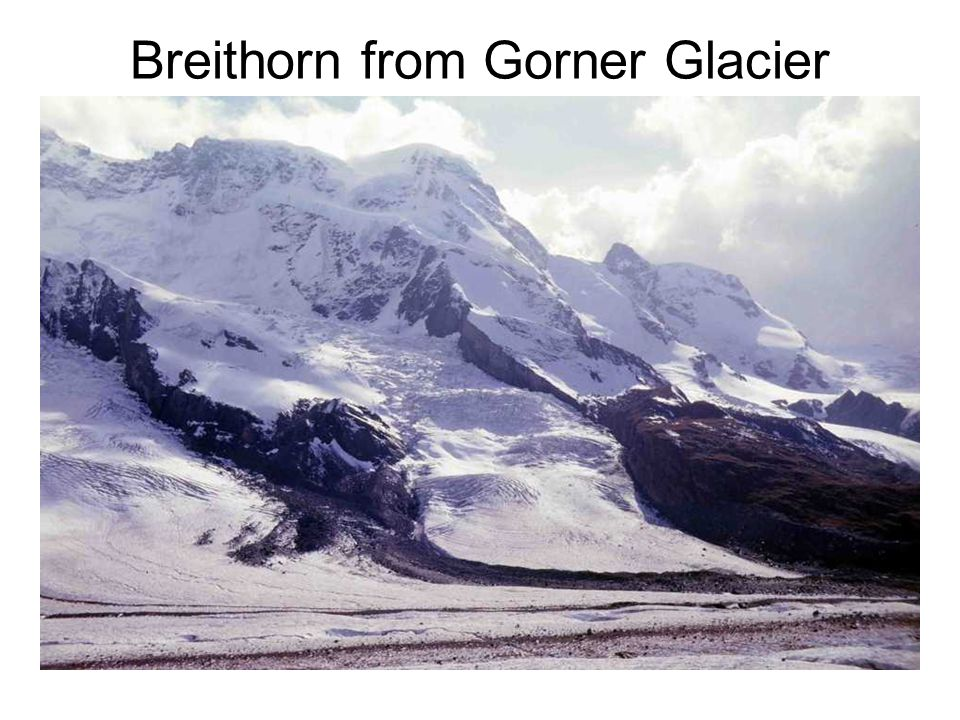 Breithorn from Gorner Glacier