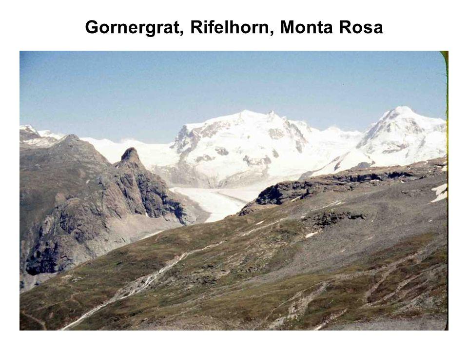 Gornergrat, Rifelhorn, Monta Rosa