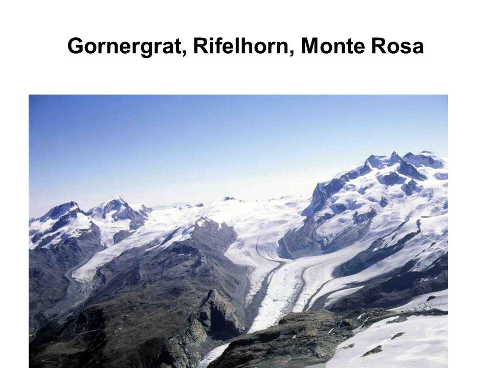 Gornergrat, Rifelhorn, Monte Rosa