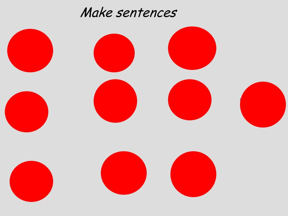 Make sentences Pupils practise saying numbers as they appear, then try to remember which one has been covered as they disappear one by one.