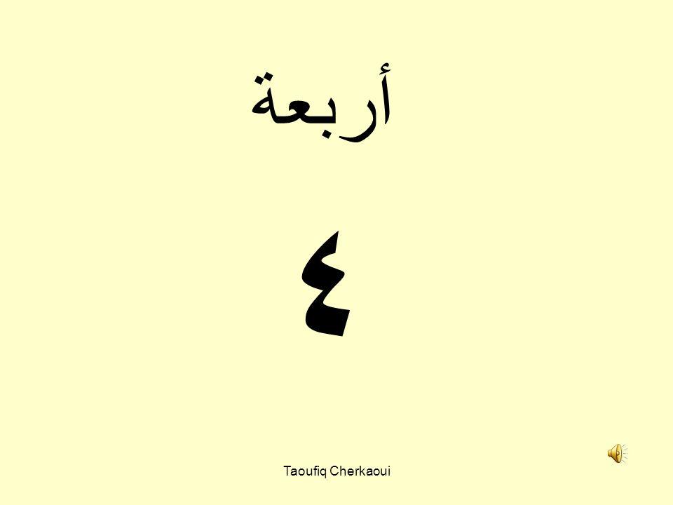 أربعة ٤ Taoufiq Cherkaoui