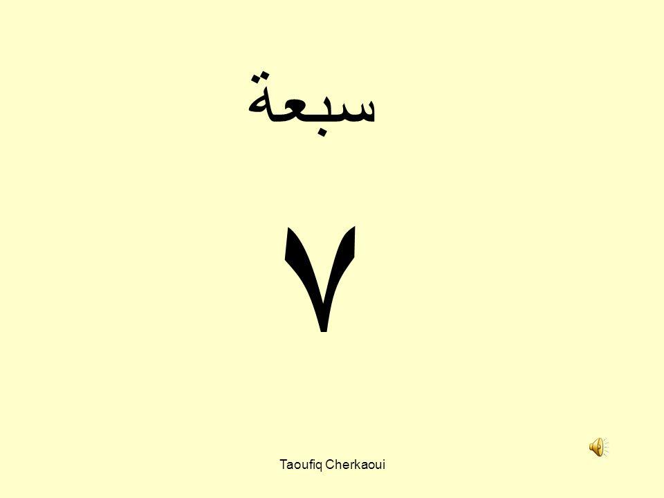 سبعة ٧ Taoufiq Cherkaoui