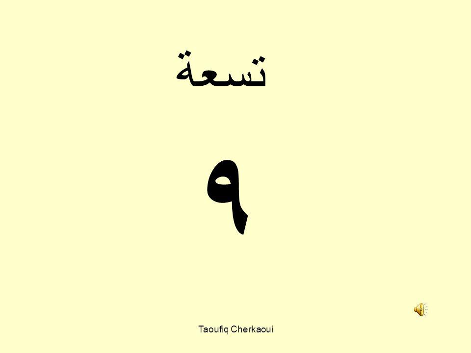 تسعة ٩ Taoufiq Cherkaoui