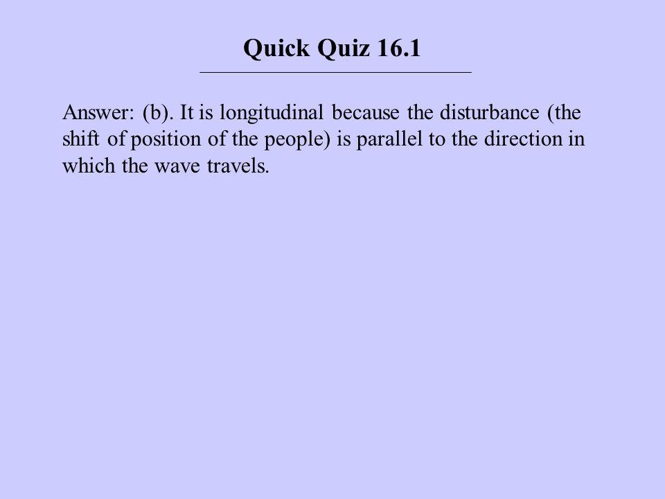 Quick Quiz 16.1