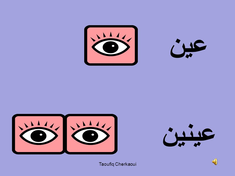 عين عينين Taoufiq Cherkaoui