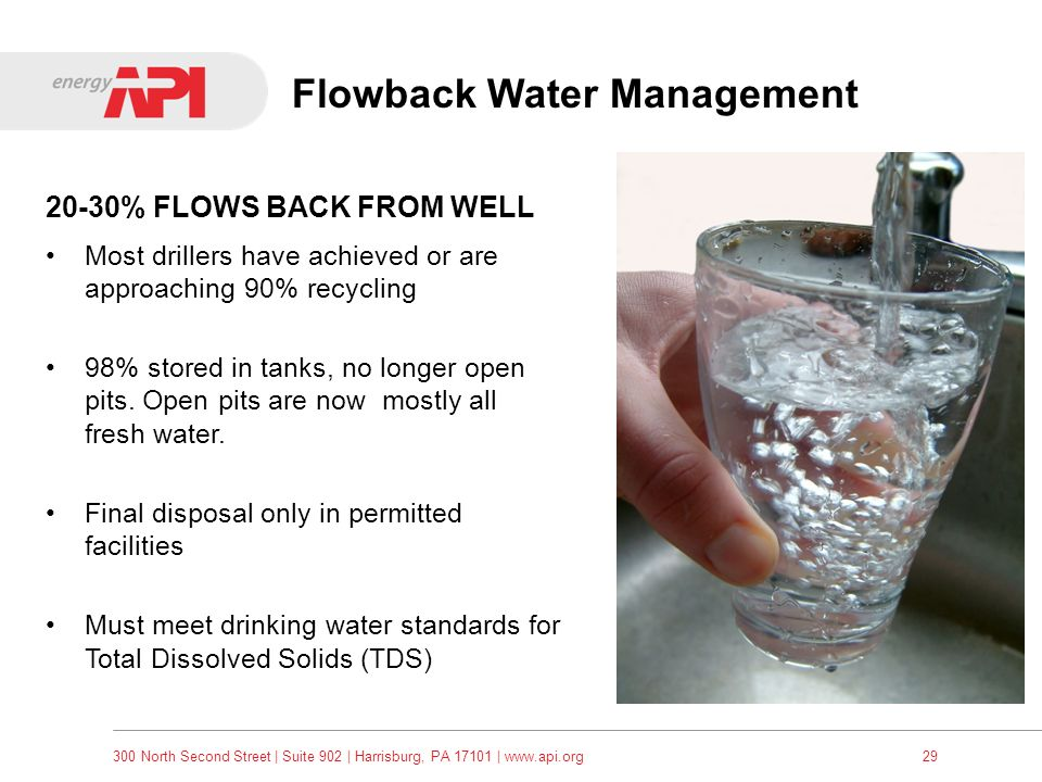 Flowback Water Management