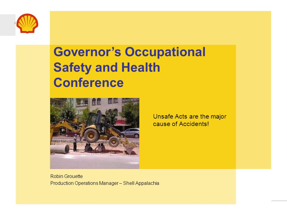 Governor's Occupational Safety and Health Conference