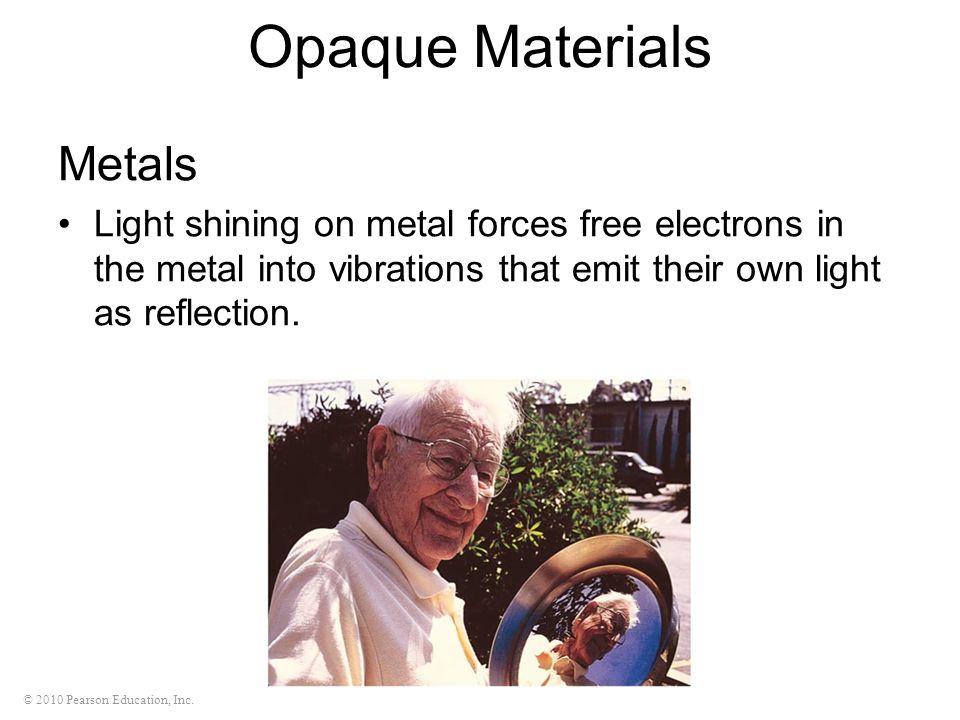Opaque Materials Metals