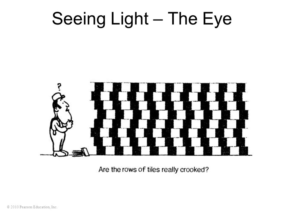 Seeing Light – The Eye