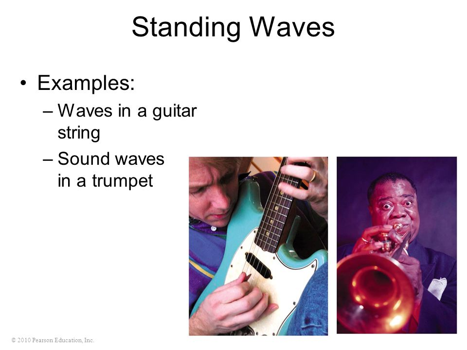 Standing Waves Examples: Waves in a guitar string