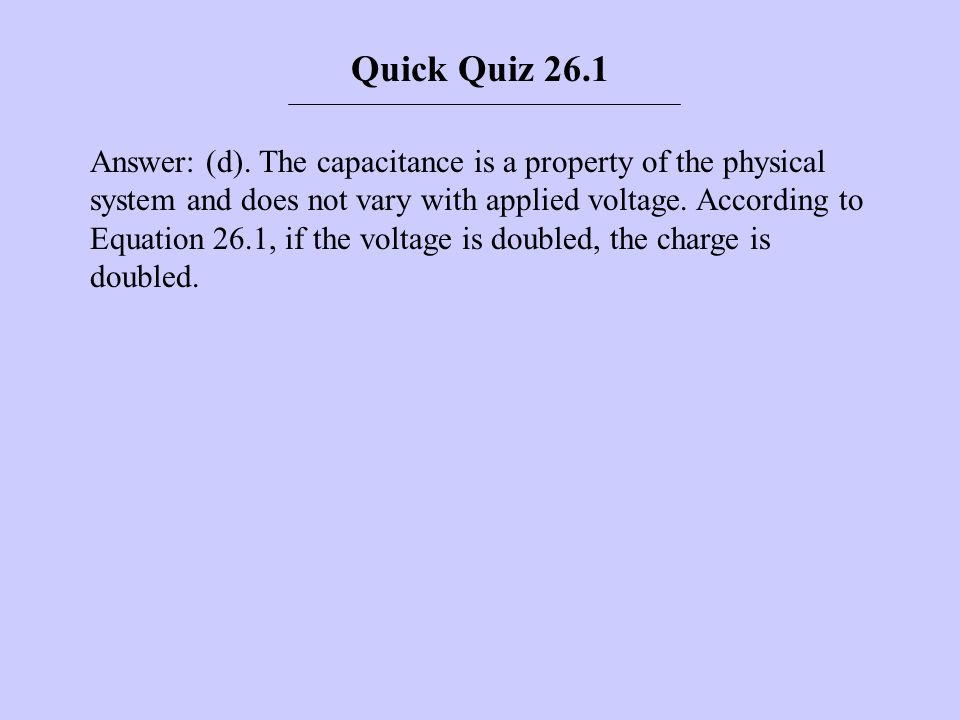 Quick Quiz 26.1