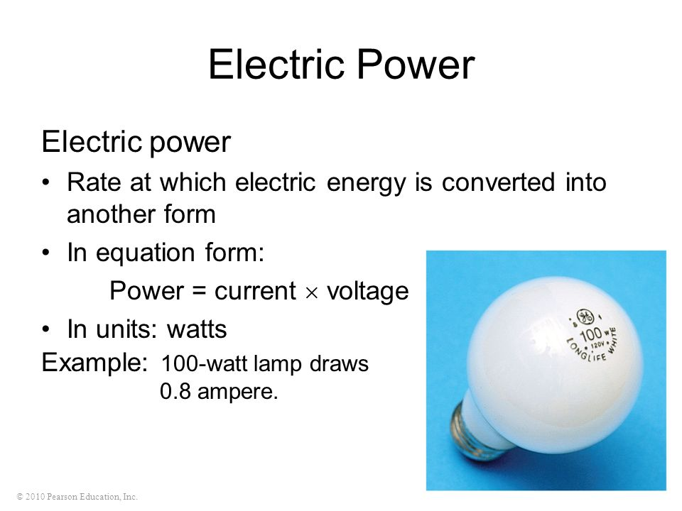 Electric Power Electric power