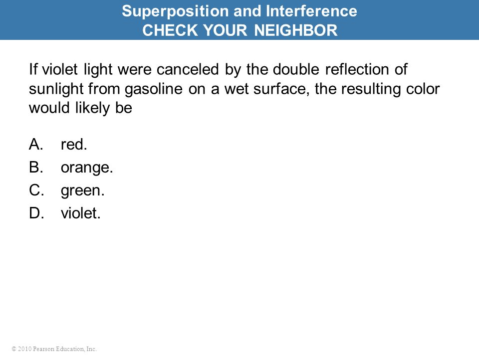 Superposition and Interference