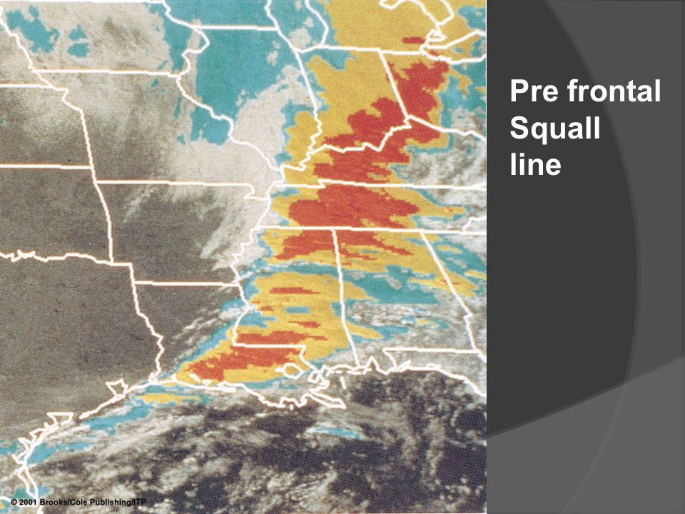 Pre frontal Squall line