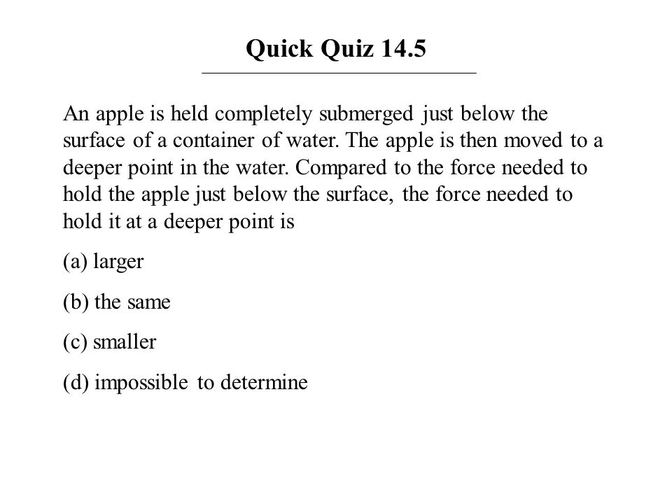 Quick Quiz 14.5